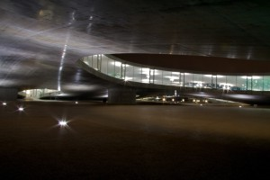 Rolex Learning Center, by Mikado1201 (Own work) [CC-BY-SA-3.0], via Wikimedia Commons